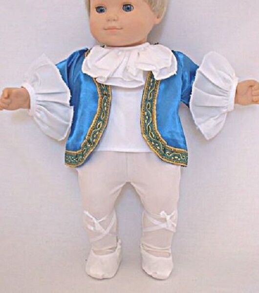 "Lovvbugg Nutcracker Boy Ballet Costume for 15"" Bitty Baby Doll Clothes"