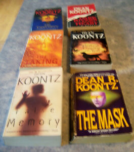 PAPERBACK  DEAN KOONTZ BOOKS Kingston Kingston Area image 8
