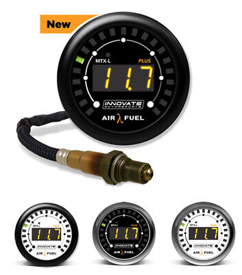 AFR Digital MTX-L PLUS gauge, Innovate 3918 with wideband – 2,5m cable INO