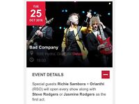 BAD COMPANY plus Support