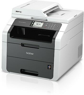 Brother MFC-9142CDN Farblaser-Multifunktionsgerät A4 4in1 Drucker Kopierer Fax ()