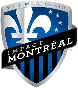 Paire de billet impact vs Toronto Fc centre under cost