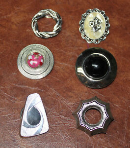 Large collection of Vintage scarf clips Kingston Kingston Area image 3