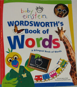 Baby Einstein Wordsworth Spanish Large Book of Words London Ontario image 1
