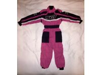 GIRLS PINK WULF SPORT SUIT AGE 4-5