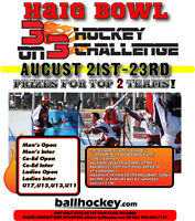 3 on 3 Ball Hockey Challenge