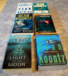 PAPERBACK  DEAN KOONTZ BOOKS Kingston Kingston Area image 1