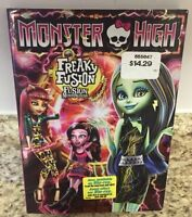 MONSTER HIGH Freaky Fusion DVD Movie. Ex. Condition. $5.00