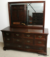 Gibbard Canadian Legacy #1600 8 Drawer Chest w/ Mirror