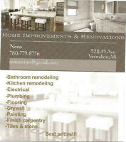 Home improvements & renovations