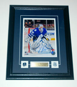 James Reimer Toronto Maple Leafs Auto Framed