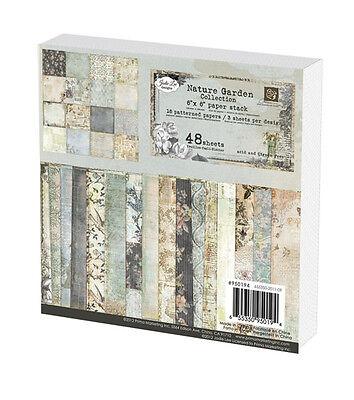 "Prima Marketing 6""x6"" Paper Stack - Nature Garden 48 sheets"