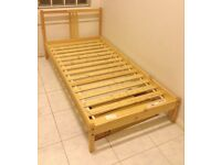 Single Bed Frame Ikea Fjellse