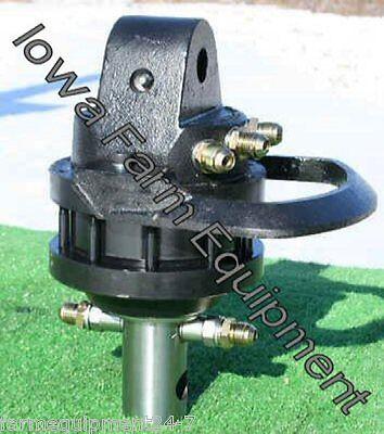 HYDRAULIC ROTATOR, Intermercato R45 360° Contin Rotation,Axle Mounted:9900lb Cap