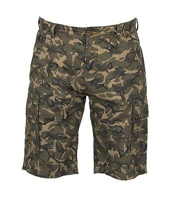 "Fox ""CHUNK"" Carp Fishing Clothing Range - Lightweight Camo Shorts - All Sizes"