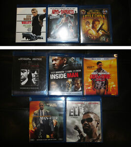 Collection de films Blu Ray / Blu ray movie collection West Island Greater Montréal image 1
