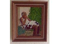Siesta ...Original Oil painting