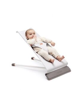 Like new Baby Bjorn Mini Bouncer and Wooden Toy accessory  London Ontario image 1