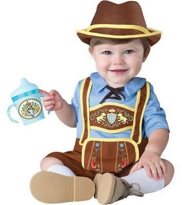 Boys costume Little Lederhosen german oktoberfest 18-24 months toddler historic