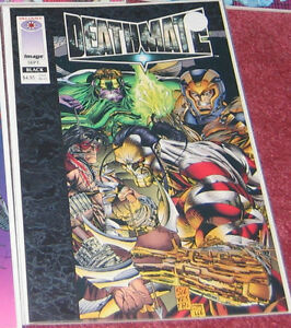 Deathmate Comics - Image/Valiant Crossover - Great condition Cambridge Kitchener Area image 1
