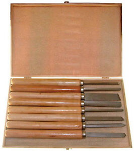 pc wood turning chisel set 8 piece wood turning