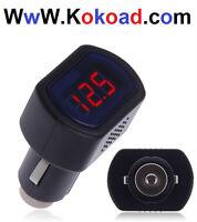 For Sell Digital LCD Cigarette Lighter Voltage Panel Meter Monit