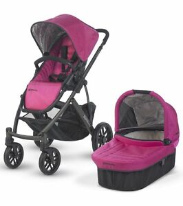 UPPAbaby Vista Stroller with bassinet Hot Pink West Island Greater Montréal image 1