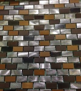 METAL. backsplash tile. Reg 22.98 LIMITED TIME $4.99 sf