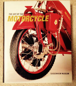 Art of The Motorcycle Book Guggenheim Perfect Condition