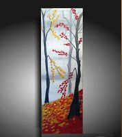 FALL SALE Autumn painting canvas painting Acrylic
