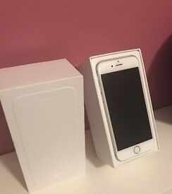 VGC Boxed iPhone 6 16GB Silver O2