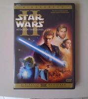 Star Wars I I Attack of the Clones (2 Disc)-DVD