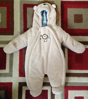 Baby BOY/GIRL cold weather Body SUIT/Lion Suit/$10