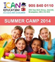 ICAN EDUCATION (Summer Camp / In Class / At home)