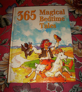USED 365 MAGICAL BEDTIME TALES CHILDREN'S HARDCOVER BOOK
