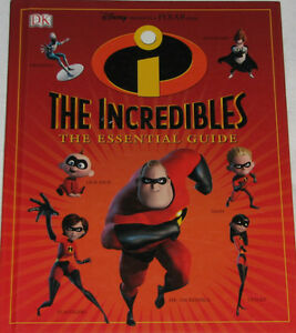 The Incredibles - The Guide Essential  Book (Retails $18+)