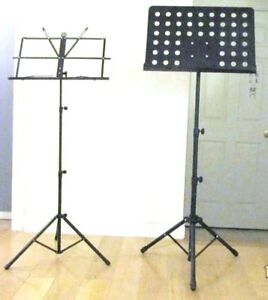 Stands: for Keyboard, Mic, Guitar, Cello, Sax, Sheet Music