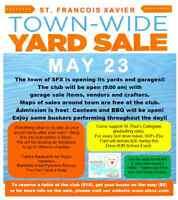 St. Francois Xavier Town Wide Yard Sale
