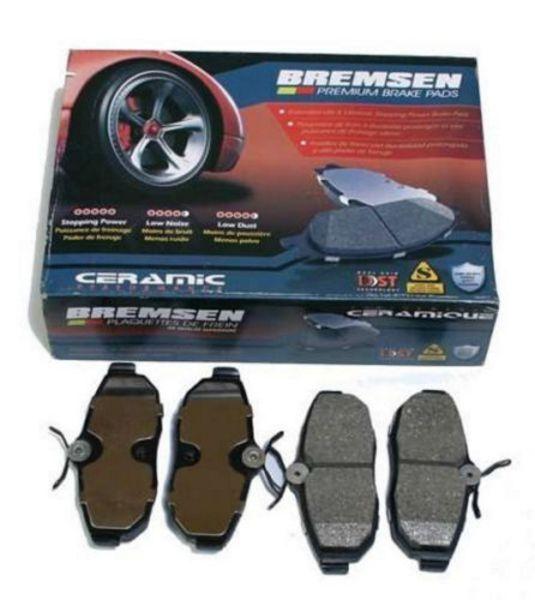 REAR CERAMIC BRAKE PADS FORD MUSTANG 2005-2014