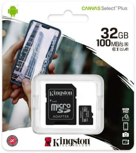 Kingston 32GB 32G Micro SD HC Class 10 100MB/s TF Flash SDHC Memory Card mobile Cell Phone Accessories