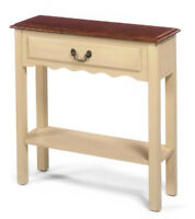 Looking for a narrow accent table similar to pics in ad