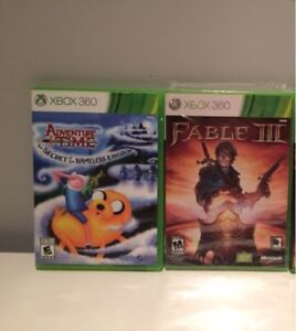 Xbox 360 Adventure Time - Fable 3 - Gears of war 3
