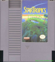 15 for Both NES Cartridge Star Tropics AND Talking Jeopardy