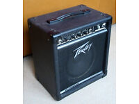 Peavey Microbass Bass Guitar Amplifier Combo * Clean, Solid & Loud !!