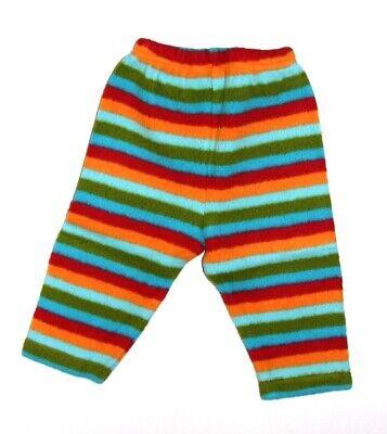 NEW Zutano Soft Fleece Bold Stripe Pants Baby Toddler 6 12 18 24M NWT Zutano Bold Stripe