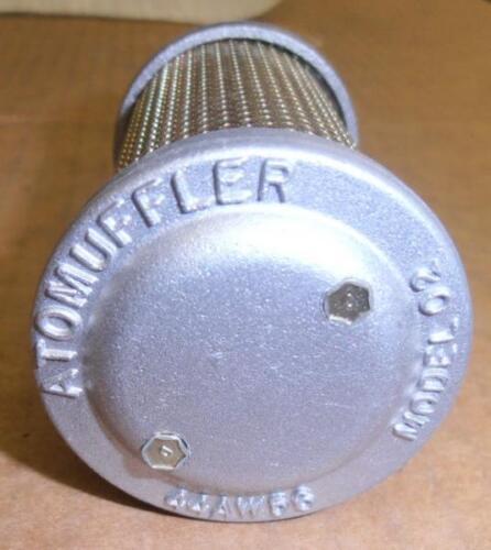 "NEW ALLIED WITAN MODEL 02 M02 ATOMUFFLER 1/4"" AIR FLOW COMPRESSOR MUFFLER"