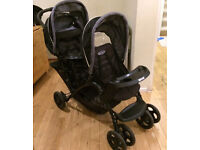 Graco double pushchair. £40ono.