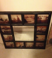 Antique Looking Picture Mirror