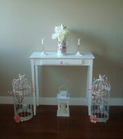 Beautiful Brand New Shabby Chic console table