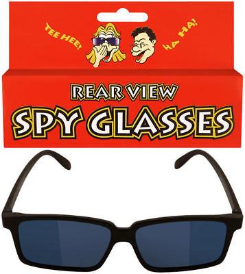 Kids Spy Glasses - Rear View Novelty Gadget Mirror Toy Sunglasses Black - Spy Kids Glasses